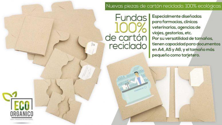 Fundas cartón reciclado