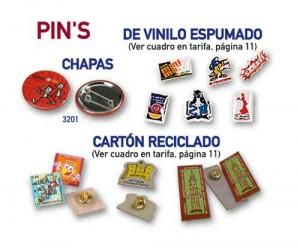 Pins y Chapas